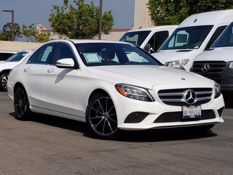 Pre-Owned 2020 Mercedes-Benz C-Class C 300 RWD 4dr Car