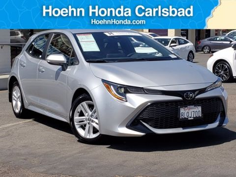 Pre-Owned 2019 Toyota Corolla Hatchback C FWD Hatchback