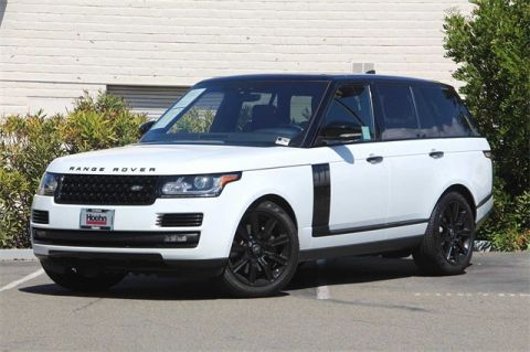 Certified Pre-Owned 2017 Land Rover Range Rover 5.0L V8 Supercharged 4WD 4 Door